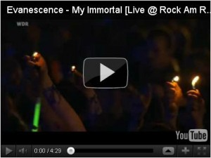 Evanescence - My Immortal (живое выступление)