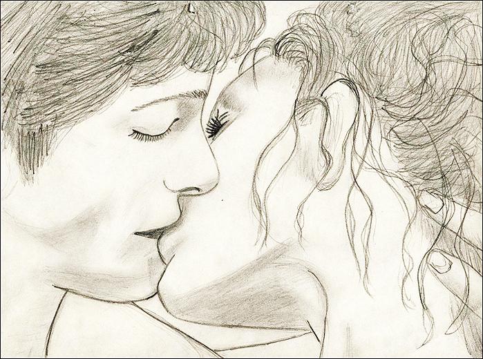 Картинки про любовь карандашом,  смотреть и скачать бесплатно рисованные черно белые картинки