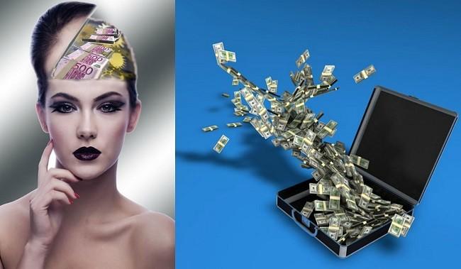 Деньги в чемодане и в голове у девушки