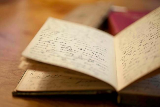 Раскрытый личный дневник