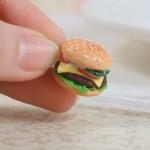 Брелок-гамбургер