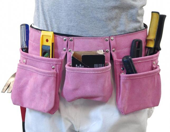 Поясные сумки для инструментов своими руками