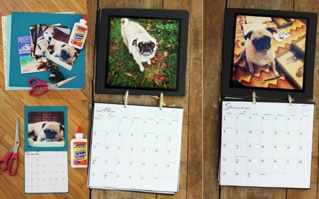 Изготовление самодельного календаря